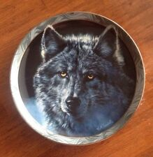 "Bradford Exchange ""Moon Shadows"" Mystic Spirit Collectors Plate Series"