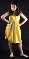 VICTORIAN PINNY Annie/Workhouse/Orphan/Servant -Yellow Smock Patched FANCY DRESS
