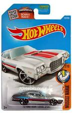2016 Hot Wheels #122 Muscle Mania '72 Ford Gran Torino Sport ZAMAC