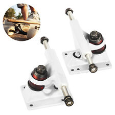 "2Pcs of 3.25"" Skateboard Trucks Anchor Shape for 22"" Mini Penny Board White New"