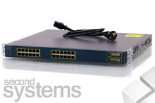 Cisco 3550 inline Power switch Poe 24 Port + 2 gbic-ws-c3550-24pwr-smi