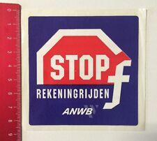 Aufkleber/Sticker: Stop - Rekeningrijden F - ANWB (010616191)