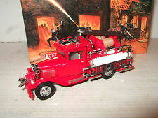New Rare Matchbox YFE06 1932 Ford AA Fire Engine Diecast Model.
