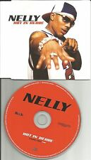 NELLY Hot In Herre w/ RARE EDIT Made in UK PROMO DJ CD single 2002 here