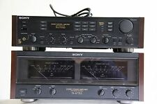 Sony Ta-n77es Power amplifier and Ta-e77esd Pre-Amplifier