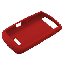 Original BlackBerry Storm Thunder 9530 9520 9500 Red Rubber Skin Silicone Case