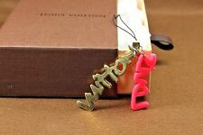 Authentic Louis Vuitton Bijoux Suck Graffiti Key Ring charm Mobile Phone strap
