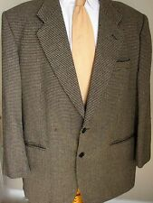 Missoni Blazer 46R Black Beige Houndstooth Example 2 Buttons Made Italy Mens