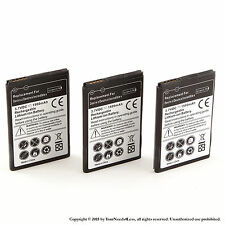 3 x 1500mAh Battery for HTC Droid Incredible 2 ADR6350 Droid Incredible S S710e