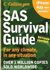 SAS Complete Survival Guide Book Small Size Perfect For Survival Packs