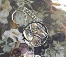 PUREBRED DOG ANIMAL JEWELRY 1 DACHSHUND PEWTER KEY CHAIN ALL NEW.