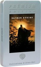 BATMAN BEGINS (Christian Bale), Limited Premium Edition, 2 DVDs Steelcase + Buch