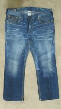 True religion Jeans Ricky Big QT men's with thick stitches.