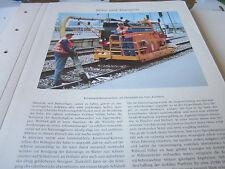 Deutsches Eisenbahn Archiv 27 Reise 5491 Kommunal Kehrmaschine auf Gleisplattfor