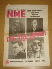 NME 1985 APRIL 20 ABC WORKING WEEK THE JUDAS MISS P COIL