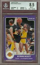 1984 Star Byron Scott #181 BGS 8.5 Sub 9.5 Rookie Lakers