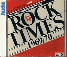 Audio Rock Times Vol. 8 1969-70 CD Various Audiophile