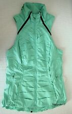 LULULEMON $129 Run Take Flight Vest Jacket Opal Mint Green Sz 4 (AUS 8) BNWT