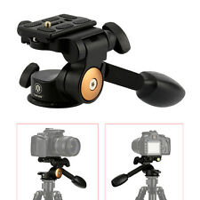 TARION Panoramic Tripod Head Holder + Quick Release Plate for DSLR Canon Nikon