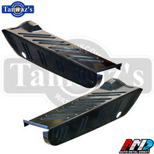67-69 Barracuda Trunk Floor Extension Drop Off Quarter Panel Filler - PAIR AMD