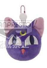 Sailor Moon 3'' Luna Ball Plush Key Chain Licensed NEW
