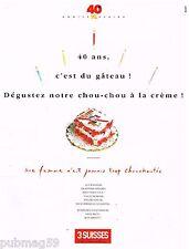 Publicité Advertising 1990 Le Catalogue 3 Suisses...40 ans