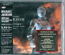 Michael Jackson History Past, Present And Future Japan CD 2nd pr.w/obi ESCA-6200