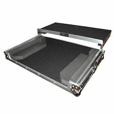 ProX X-NVLT Flight Case For Numark NV Controller W/Gliding Laptop Shelf & Wheels