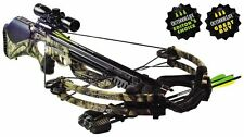 NEW 2016 CAMO BARNETT GHOST 410 3X32 CROSSBOW PKG 410 FPS 78222