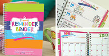 2016-2017 Reminder Binder® Planner Calendar w/ Monthly & Weekly Views, Stickers