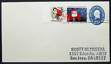 US stationery cover American Lung Association Christmas Scott lettera GS (i-8615
