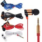 3.5mm Headphone Earphone Earbuds Headset Stereo iPhone iPod MP3 MP4 PC Tablet CD