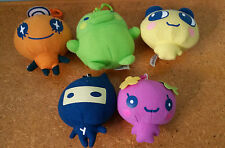 tamagotchi promotional  plush toys from red rooster set of 5!