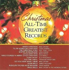 Christmas All-Time Greatest Records, Various Artists, Andrews Sisters,Excellent,