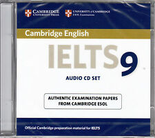 Cambridge English IELTS 9 Audio CD Set (2 CD's) ESOL Examination Papers NEW 2013