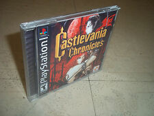 CASTLEVANIA CHRONICLES:.PS1 NTSC CASE+INLAYS ONLY.NO GAME
