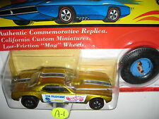 SNAKE Don Prudhomme 1993 Vintage Collection w/button redlines yel Hot Wheels MOC