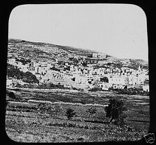 Glass Magic lantern slide NAZARETH C1890 ISRAEL  - UNTITLED