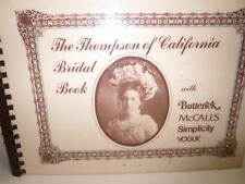 1970's Bridal Party Pattern Book w/Swatches Butterick Vogue McCalls Simplicity