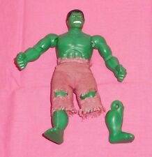 "vintage Mego WORLD'S GREATEST SUPER-HEROES WGSH 8"" INCREDIBLE HULK (broken leg)"