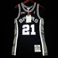 100% Authentic Mitchell Ness Spurs Tim Duncan Finals Jersey Size 36 S