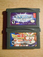 Dragon Ball Z The Legacy of Goku + Yu Yu Yakusho (Nintendo Game Boy Advance)