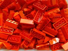 50 LEGO Brand New Red Slope 45 2 x 4 2x4 No.3037 Roof Tile Building Top