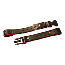 Accordion Back Strap Black +red Quick Release 100% Made in Italy Italcinte 134