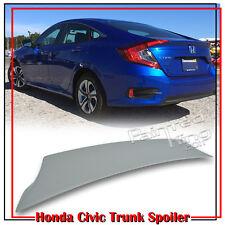 Painted For Honda Civic 10th Sedan V Style Trunk Boot Spoiler 2017 EX-T DX