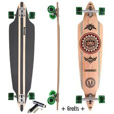 "Original Maronad Longboard Skateboard 41"" Drop Through Abec 11 Complete Indian"