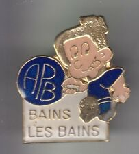 RARE PINS PIN'S .. SPORT TENNIS DE TABLE PING PONG CLUB BAINS LES BAINS 88 ~CZ