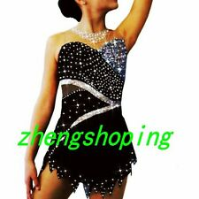 GILRS Sparkle Ice Figure Skating Dress/Competition Baton Twirling Costume