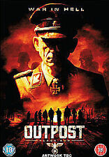 OUTPOST 2 BLACK SUN DVD HORROR NAZI ZOMBIES
