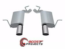 Gibson AXLE BACK DUAL EXHAUST SYSTEM, ALUMINIZED 17407